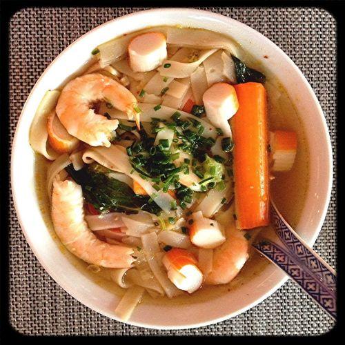 Eating Thaïfood