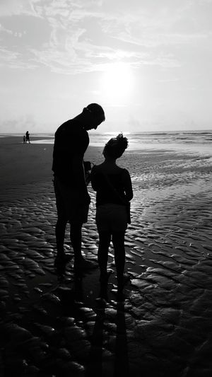 Sharing beach