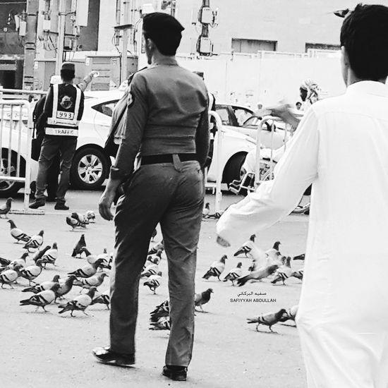 Taking Photos Black And White Makkah Al Mukaramah Makkah