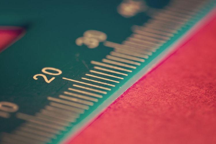 Ruler Bokehlicious Cardboard Close-up Colorful Indoors  Measure Measurement Milimetre Object Ruler