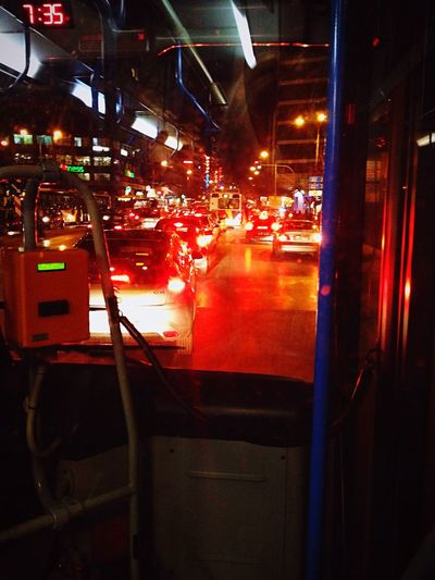 Under Pressure Traffic Traffic Jam Trafficlight Cars Bus