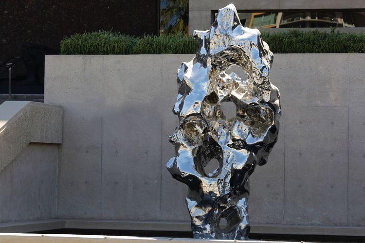 JGLowe EyeEm Selects Day Art And Craft Creativity Representation Outdoors No People Sculpture Architecture Built Structure Metal Human Representation Close-up Building Exterior Sunlight