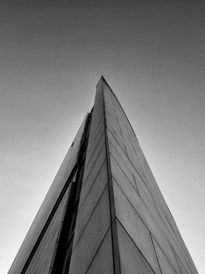 The Tower Of Forgiveness Gdynia 1 October 2015 IPhoneography Iphone 6 Plus EyeEm Masterclass EyeEm Best Shots EyeEmBestPics Minimalism Minimal Abstract Architecture Architecture_collection Tower Bnw_collection Bnw Gdynia Poland IPS2015Architecture