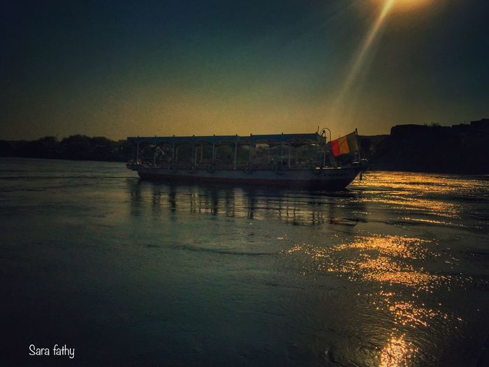 Moment City Of Peace Aswan Mirror Of Life IPhone Natural Beauty Natural Sunset Nile River River The Reflection Of The Sun No People Summer 2016 Photo Is Everything Photo Is Happiness