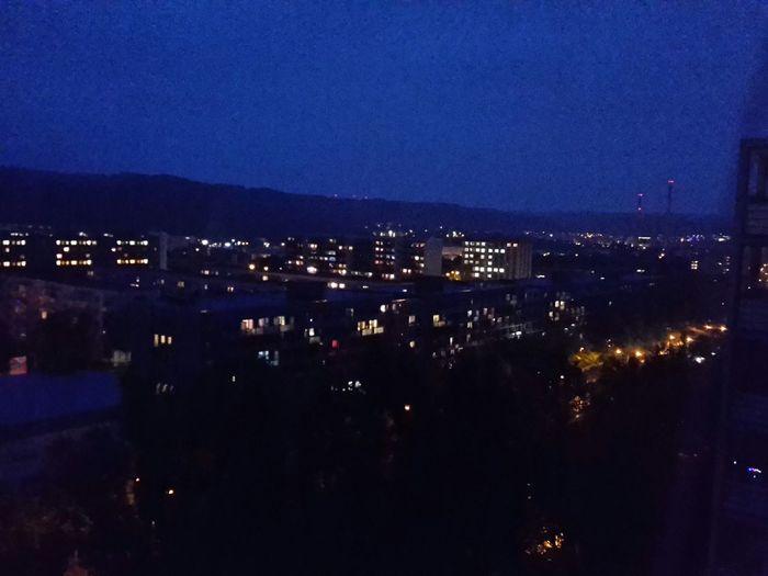 rainy city nights Jena