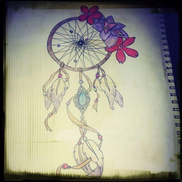 Drawing Dreamcatcher
