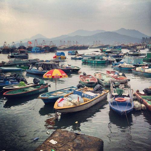 Boat Boats Cheung Chau Ferry Harbor HongKong Travel Vacation Water 長洲