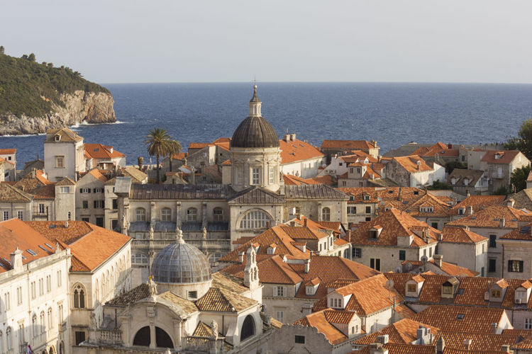 Dubrovnik Dubrovnik, Croatia Croatia Outdoors Lokrum  Lokrum Island Cityscape Building Exterior Architecture Built Structure Building Water Sea City Residential District Horizon Over Water Religion Roof Sky Dome Nature Horizon Place Of Worship Day No People TOWNSCAPE