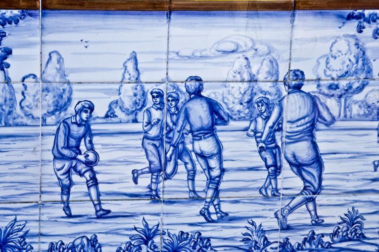 Ceramic Ceramic Art Ceramics Close-up Cold Temperature Day España Futbol Ice Hockey Ice Rink No People Outdoors Pottery Pottery Art Snow SPAIN Talavera Talavera De La Reina Talavera Pottery Toledo Winter