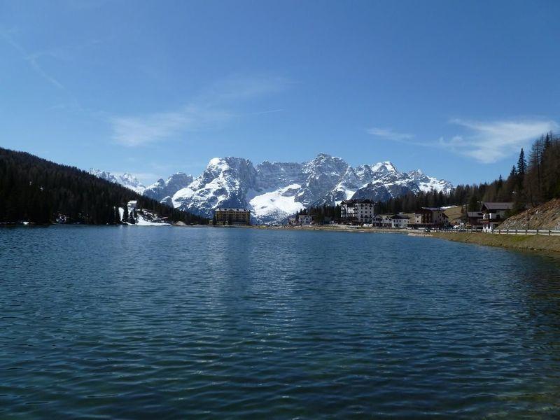 My Happy Place  Lago Di Misurina Landscape Water Reflections