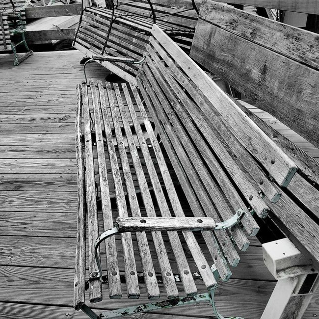 Old Bench Boothbay Harbor Maine Taking Photos