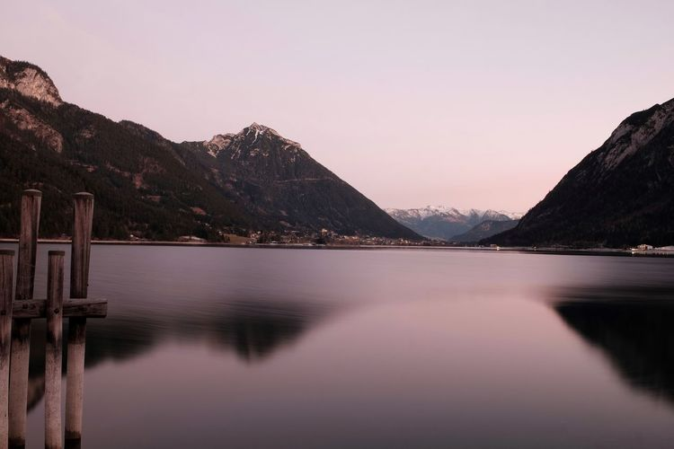 41. Tirol From My View Beauty In Nature Splash Geting Inspired Getting Inspired Lake Schattenspiel  Schattenspiele No People Horizontal Symmetry Landscape Light And Shadow A Big Thank You To You All 😊 ✨✨👀✨✨ Been There. Lost In The Landscape