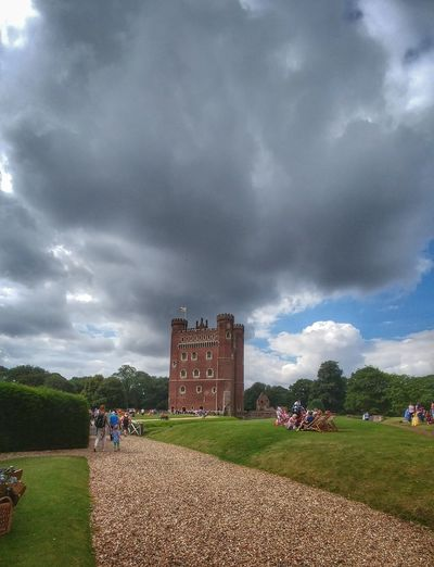 Tattershall Castle Beauty in Architecture History Landscape thanks to the Nationaltrust Cloud - Sky Storm Cloud Dramatic Sky Outdoors Storm Sky Grass Nature No People Thunderstorm Day