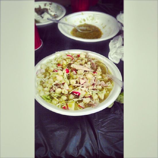 No Caption Needed ;) Pozole Greenpozole BombDotCom Saturdaynightdinner toofull