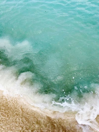 Aruba Island Travel Caribbean Wave Surf Water Sea Motion Beach Nature High Angle View No People Power In Nature Beauty In Nature Day Backgrounds Outdoors Close-up