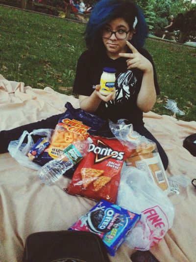 Picnic Fooling Around Hanging Out