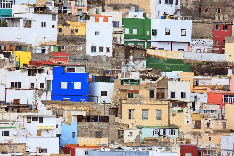 Old town in las palmas de gran canaria