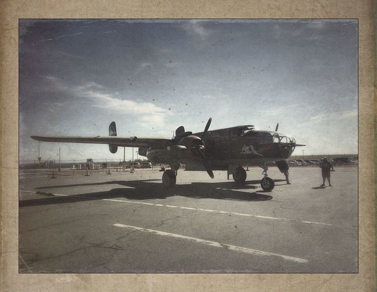 B25 Mitchell Iphone5s IPhoneography IPhone Photography Procamera Formulasapp HDR Ww2warbirds Airshow Vintage Airplanes