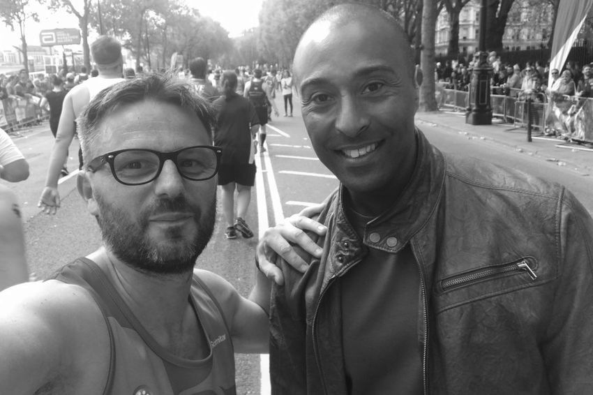 London Marathon 2017 London London Marathon 2017 London Marathon Runners Black And White