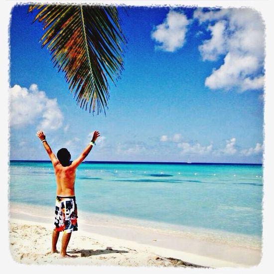 Life Is A Beach Chilenos Por El Mundo Punta Cana Caribe #IslaSaona República Dominicana