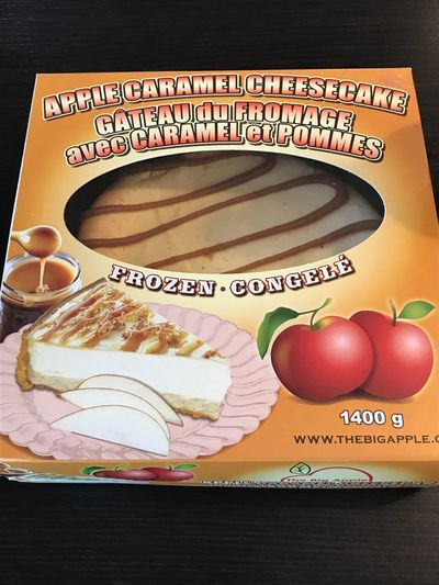 International Food series: Big Apple Caramels Cheesecake Canadian Cheesecake Time Cheese Cake Big Apple Everything Make With Apple Apple Caramel