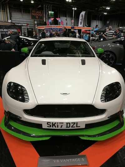 Aston Martin Sport Competition Indoors  Modern Technology Auto Racing