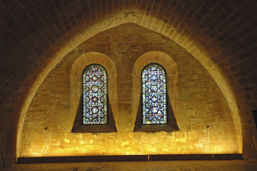 Arch Architecture Built Structure Church Indoors  Place Of Worship Religion Spirituality Stained Glass Window