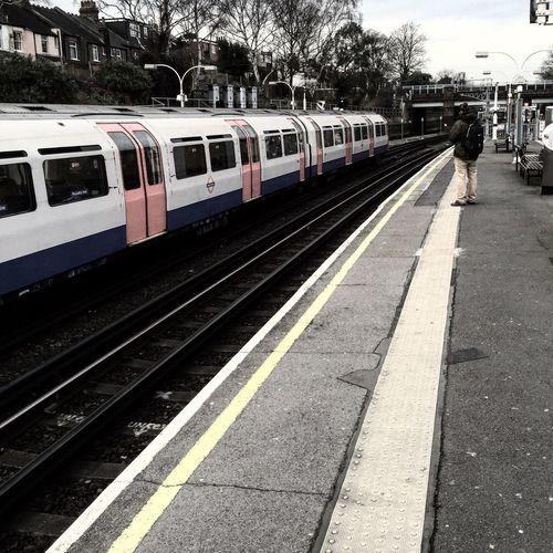 Londonunderground Train Piccadilly piccadillyline Blackandwhite Ealing Southealing