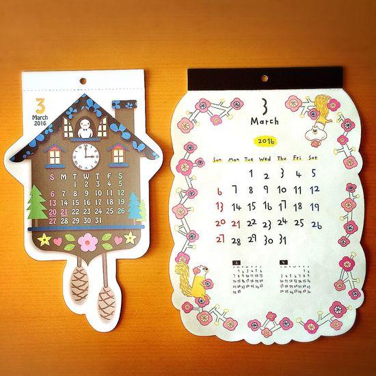 よろしくマーチ◡̈♪ 3月 マーチ March カレンダー Calendar