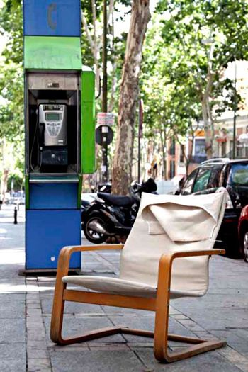 Relax n talk Street Sidewalk Capture Day Payphone Chair Relax Relaxing Moments Talk