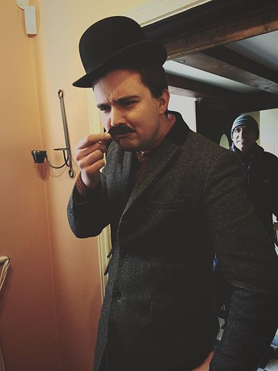 Nationaltrust Photobomb Dressing Up Moustache Hat Getting Inspired Having Fun Enjoying Life Captured Moment Hello World