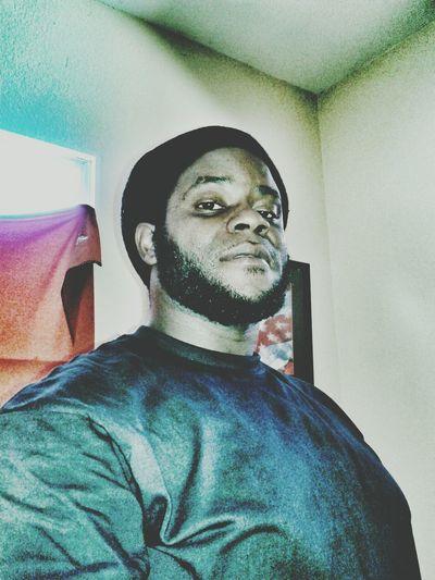 Relaxing Selfie Born Jamerican  Keep ya head up!