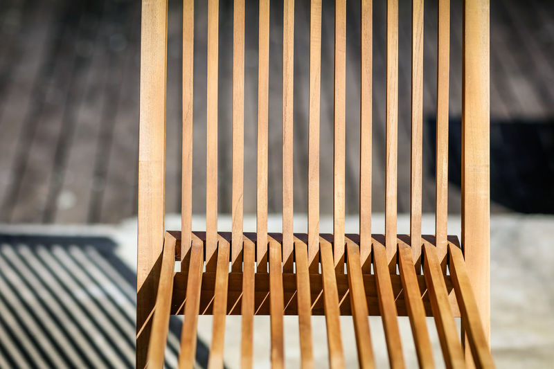 Chair Chair South Africa Wood Day Folding Chair Garden Furniture Lines And Shapes No People Outdoors Pattern Shadow Sitting In The Sun Slats Summer Sunlight Sunshine Wood - Material