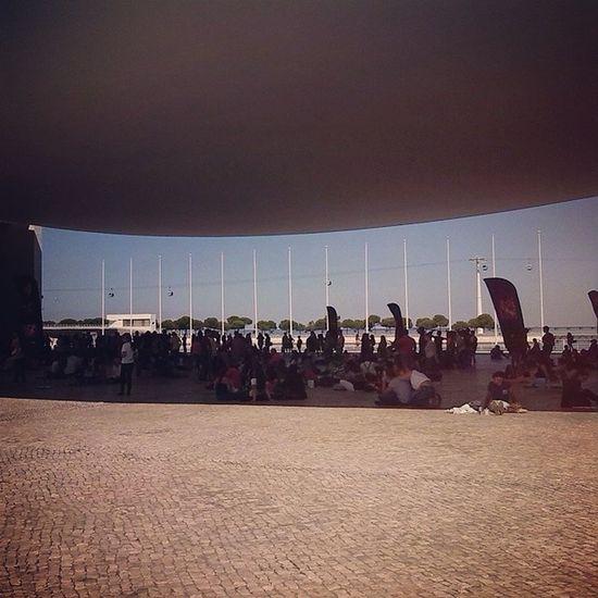 Tudo a espera pra fazer a audição do fator x Xfactor Pavilhaodeportugal Lisboa