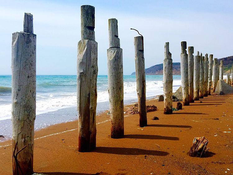 Russia Sakhalin Sea Sea And Sky Beach Seaside Nature_collection