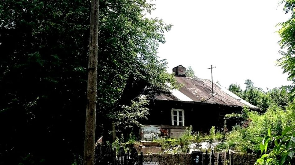 Chałupka House Architecture No People Tree Relict Rustic Beauty