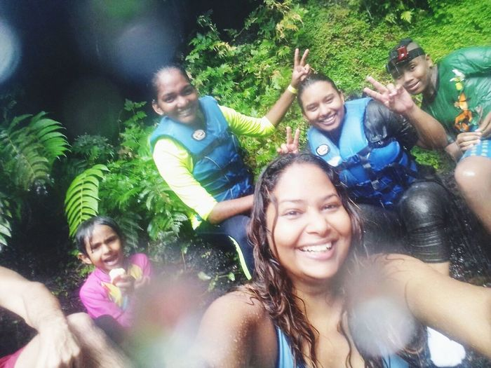 Connected By Travel Hiking Adventures to Rincon Waterfall Trinidad Hidden Gems  Hidden Places Hidden Beauty Meeting Strangers begin as strangers and leave as Friends Adventure Buddies All Ages and Ethnicities Brought Together By A Common Destination Travel Travel Destinations Funny Moments Memoriesforlife