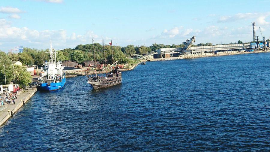 Ships⚓️⛵️🚢 Ships At Sea Sea Sea Life Goodbye Summer Gdansk,poland