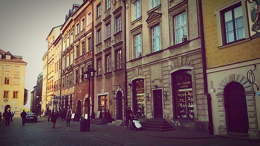 Warsawthecapitolofpoland Warsaw Old Town Warsaw Warsaw City Evening Retro Warsaw Centrum