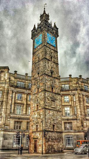 Clock Tower Lunchwalk Buildings