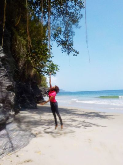 Travel Destinations 100StepsBeach Northcoast Trinidad Trinidad And Tobago Beauty In Nature Beachlife Beach Caves Explore Adventure Fun Outdoors Nature LoveNature Sea Sea And Sun Reach Jump Goals Fun In The Sun Vines And Views EyeEmNewHere The Great Outdoors - 2017 EyeEm Awards