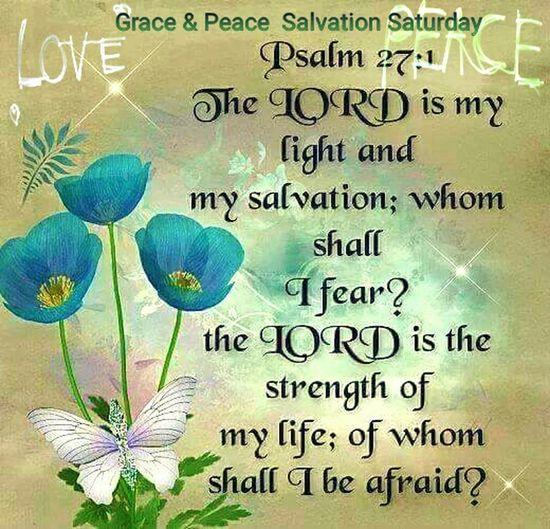 Grace & Peace Salvation Saturday