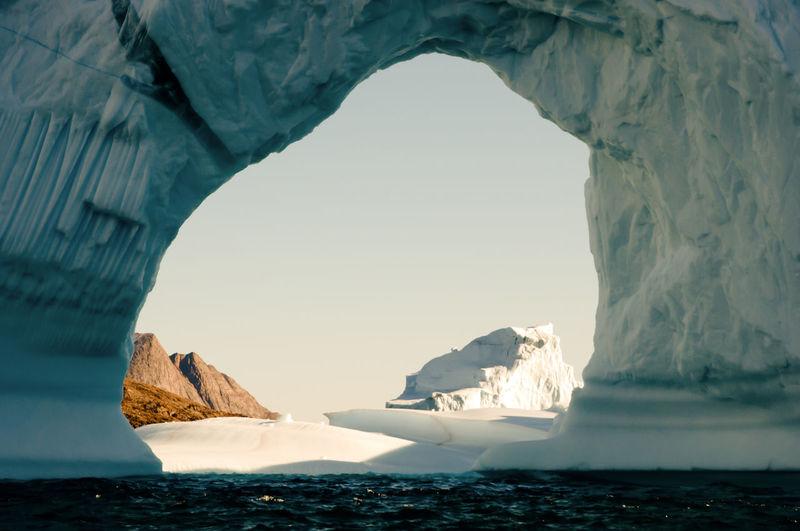 Giant Iceberg BIG Greenland Spitsbergen Arctic Ice Iceberg Polar Climate Svalbard