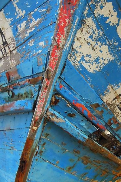Peeling Paint Abstract Art Abstract Adandoned Ruined Rotting Wood Fishing Boats Rotton_wood Deterioration Textures And Surfaces
