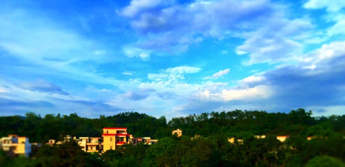 Tadaa Community EyeEm Nature Lover Sky And Clouds Mountains IPhoneography 黄昏金阳,紫云翠峰......风驰电掣过阳春。