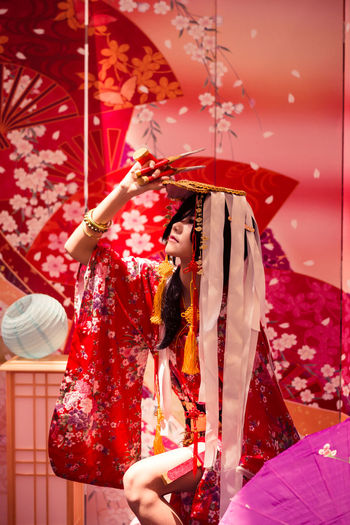 Adekan Adekan Shiro  Cosplay Girl Solo People One Person Performance Japanese  Theme Studio Setup Natural Light Portrait Asdgraphy Malaysia Event Sony Sony A6000 Sonyalpha Sonyphotography Alphauniverse