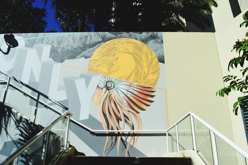 Streetart walking round the streets of Brisbane City Urban Wall Urban Street Artistry City Life