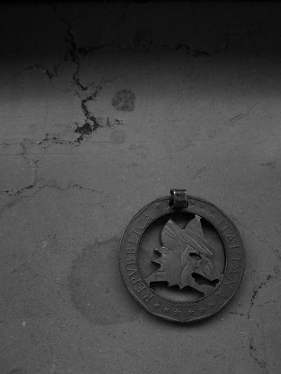 A.S. Roma 1000£ Coin B/w