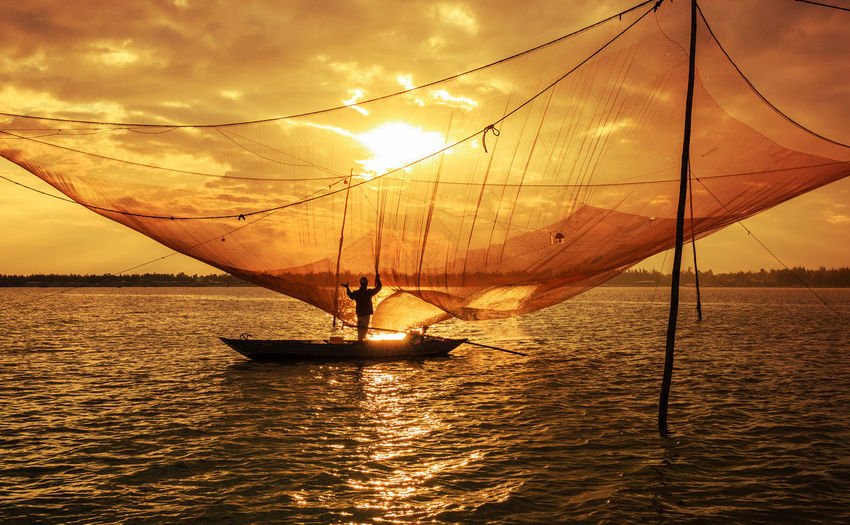 Beauty In Nature Day Horizon Over Water Nature Nautical Vessel No People Outdoors Sailing Scenics Sea Sky Sunset Water
