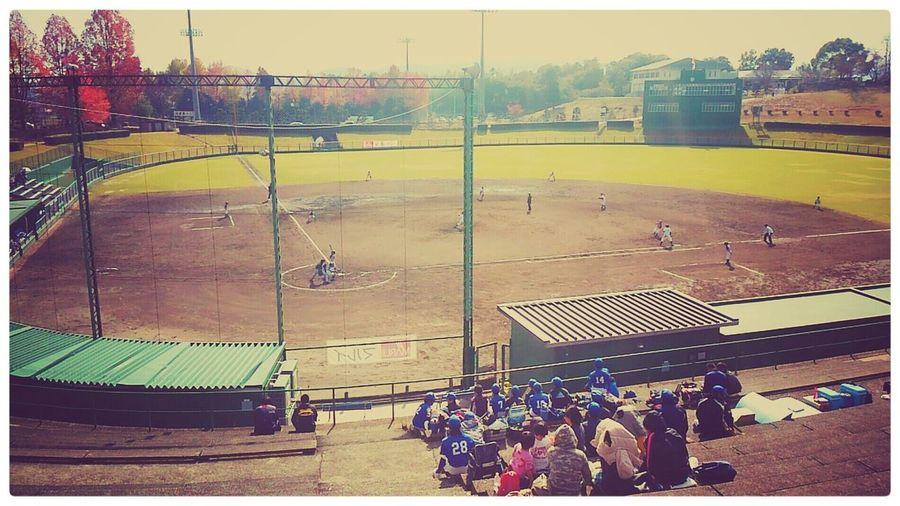 小僧共と津山に。岡山対鳥取。朝から晩まで 野球なのだ。 Taking Photos Enjoying Life EyeEm Japan Baseball 少年野球